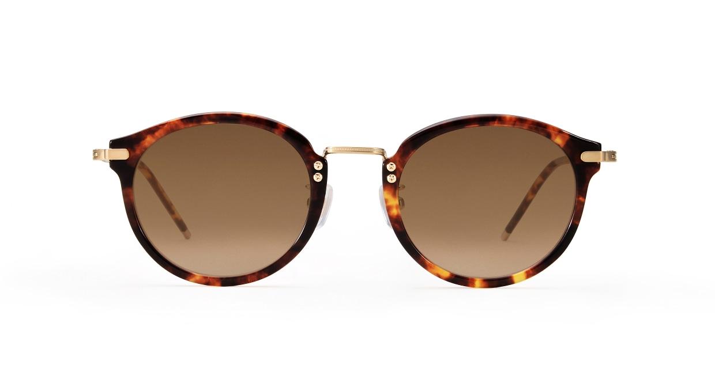 TYPE Caslon Bold-Tortoise Sunglasses [鯖江産/ラウンド]