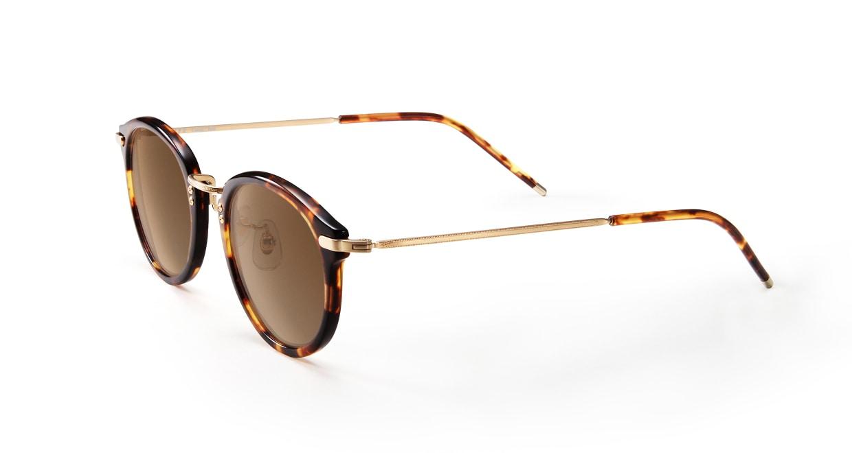 TYPE Caslon Bold-Tortoise Sunglasses [鯖江産/ラウンド]  1
