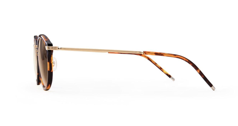 TYPE Caslon Bold-Tortoise Sunglasses [鯖江産/ラウンド]  2