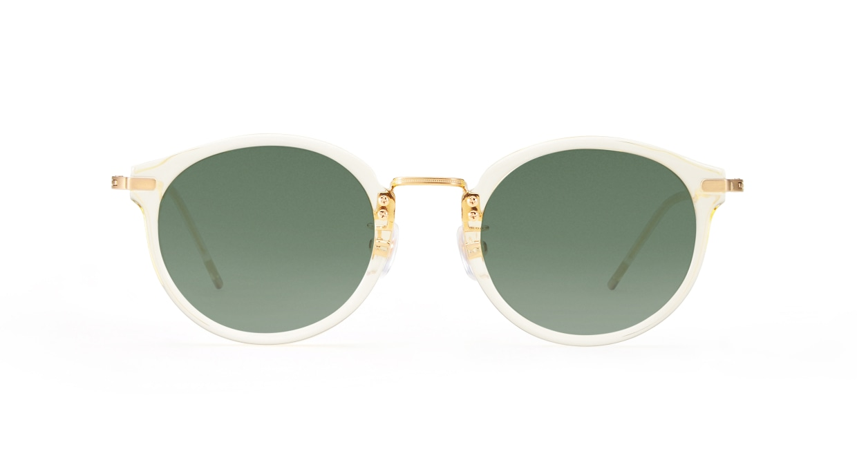 TYPE Caslon Bold-Clear Sunglasses [鯖江産/ラウンド]