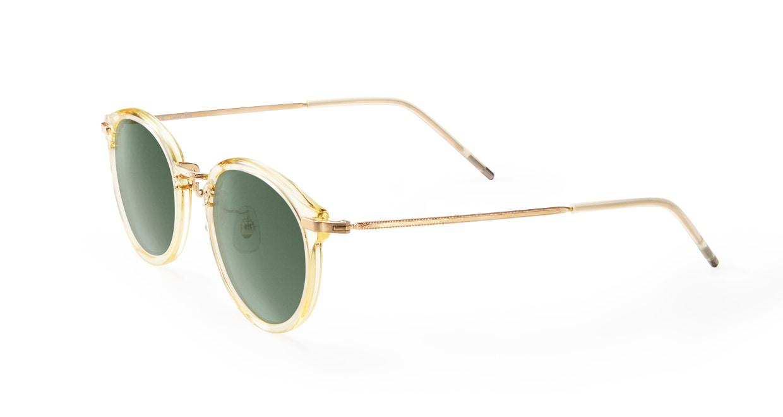 TYPE Caslon Bold-Clear Sunglasses [鯖江産/ラウンド]  1