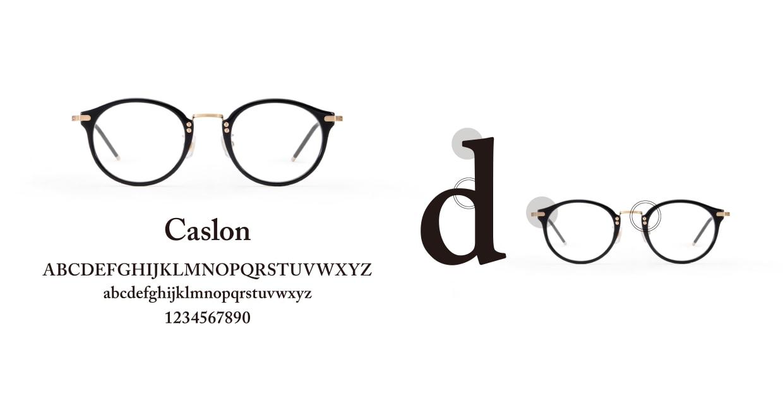 TYPE Caslon Bold-Clear Sunglasses [鯖江産/ラウンド]  3