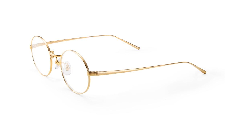 TYPE Copperplate Light-Gold [メタル/鯖江産/丸メガネ/ゴールド]  1