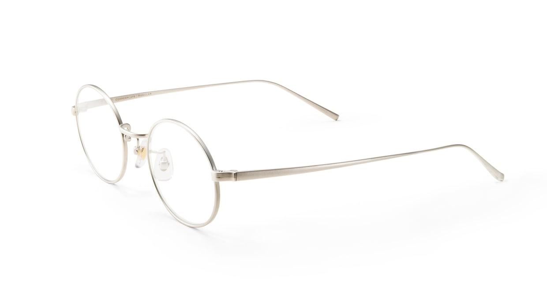 Copperplate Regular02-SV-47 [メタル/鯖江産/丸メガネ/シルバー]  1