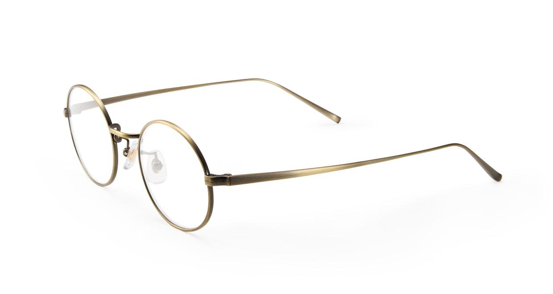 Copperplate Regular 04-BZ-47 [メタル/鯖江産/丸メガネ/茶色]  1