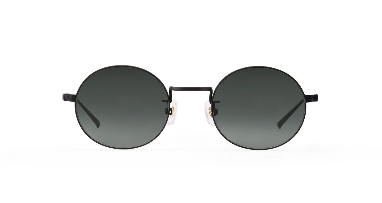 TYPE Copperplate Light-Black Sunglasses [メタル/鯖江産/ボストン]