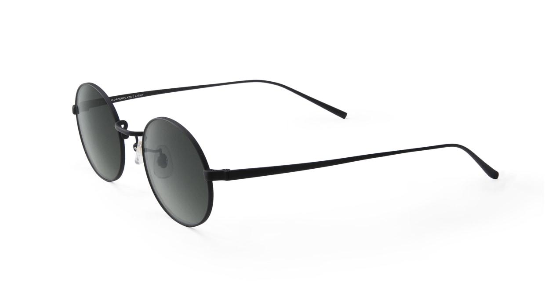 TYPE Copperplate Light-Black Sunglasses [メタル/鯖江産/ボストン]  1