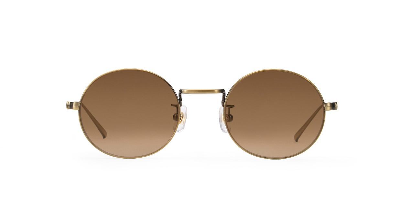 TYPE Copperplate Light-Bronze Sunglasses [メタル/鯖江産/ボストン]
