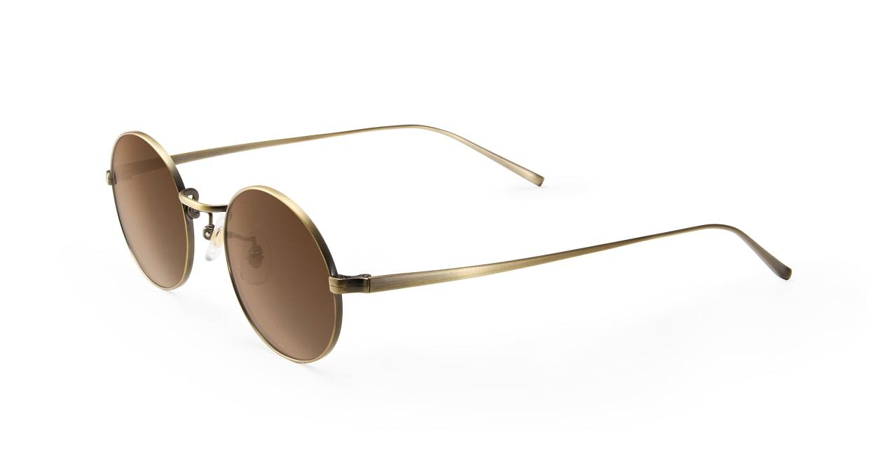 TYPE Copperplate Light-Bronze Sunglasses [メタル/鯖江産/ボストン]  1