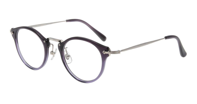 Oh My Glasses TOKYO Luke omg-025-7 [鯖江産/丸メガネ/紫]