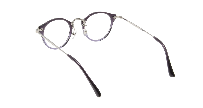 Oh My Glasses TOKYO Luke omg-025-7 [鯖江産/丸メガネ/紫]  2