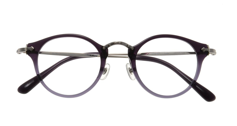 Oh My Glasses TOKYO Luke omg-025-7 [鯖江産/丸メガネ/紫]  3