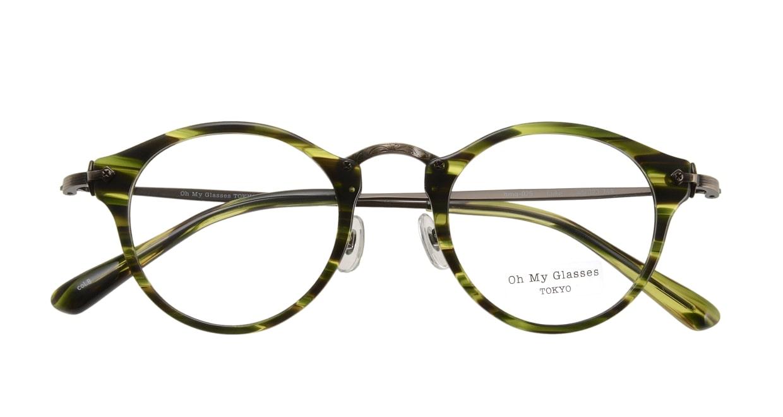 Oh My Glasses TOKYO Luke omg-025-8 [鯖江産/丸メガネ/緑]  3