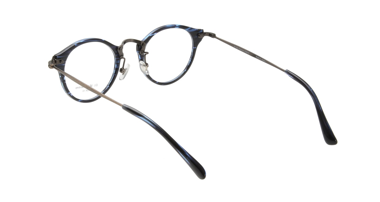 Oh My Glasses TOKYO Luke omg-025-9 [鯖江産/丸メガネ/青]  2
