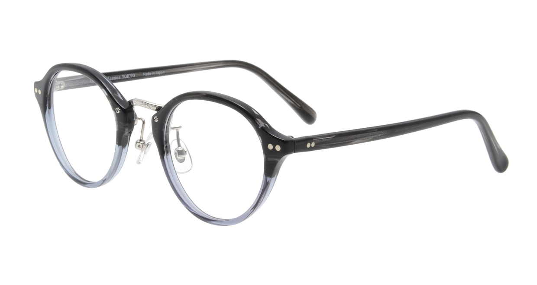 Oh My Glasses TOKYO Matthew omg-026-5 [鯖江産/丸メガネ/グレー]