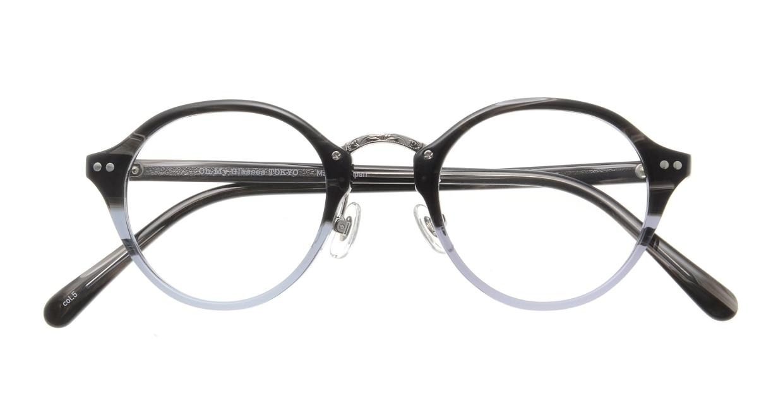 Oh My Glasses TOKYO Matthew omg-026-5 [鯖江産/丸メガネ/グレー]  3