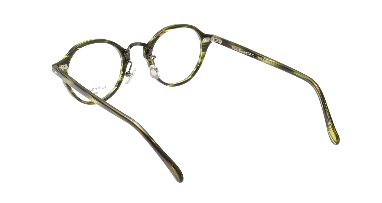 Oh My Glasses TOKYO Matthew omg-026-6 [鯖江産/丸メガネ/緑]  2