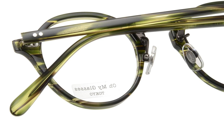 Oh My Glasses TOKYO Matthew omg-026-6 [鯖江産/丸メガネ/緑]  4