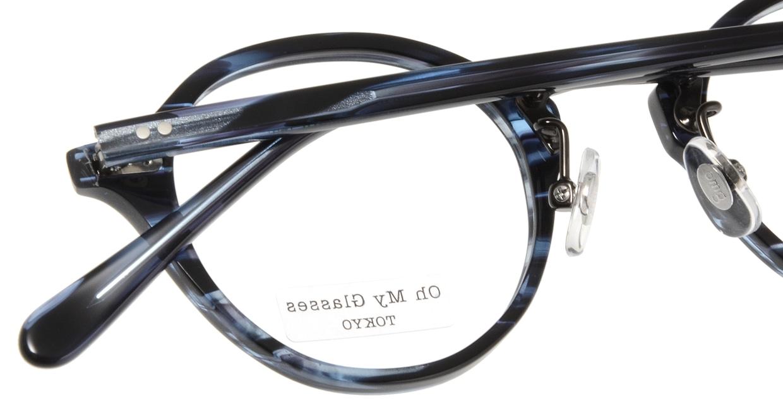 Oh My Glasses TOKYO Matthew omg-026-7-45 [鯖江産/丸メガネ/青]  4