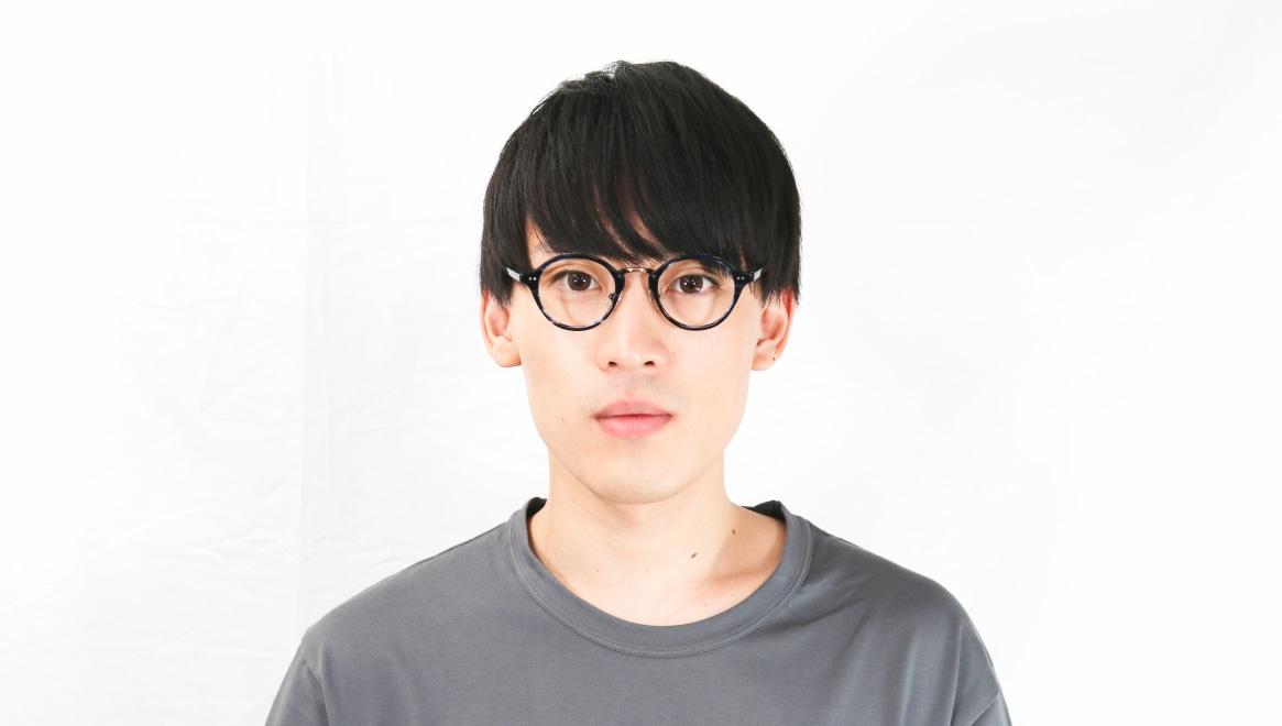 Oh My Glasses TOKYO Matthew omg-026-7-45 [鯖江産/丸メガネ/青]  6