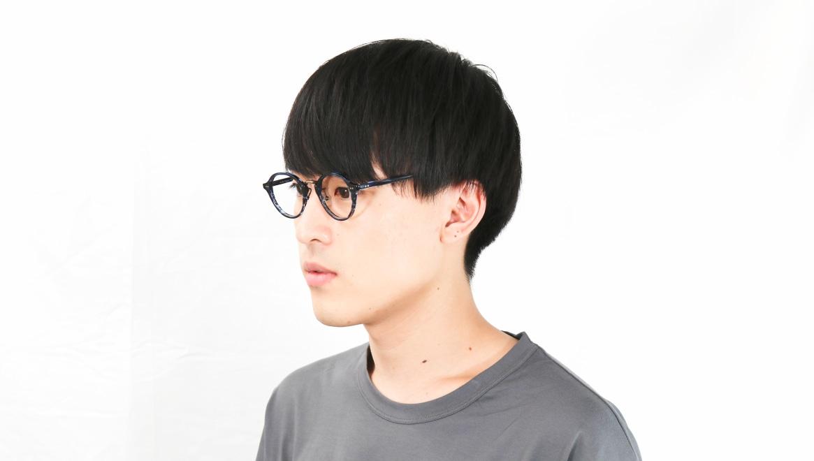 Oh My Glasses TOKYO Matthew omg-026-7-45 [鯖江産/丸メガネ/青]  7