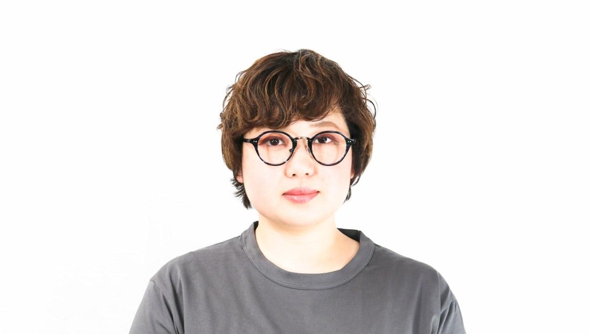 Oh My Glasses TOKYO Matthew omg-026-7-45 [鯖江産/丸メガネ/青]  8