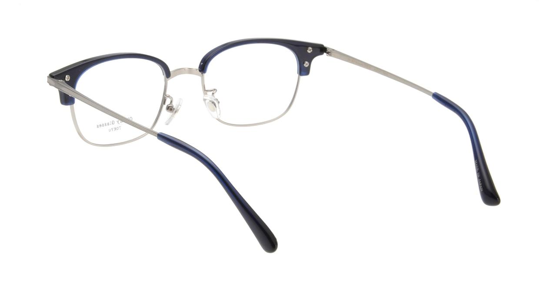 Oh My Glasses TOKYO Henry omg-041-7-50 [鯖江産/ウェリントン/青]  2