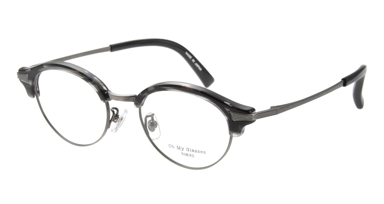 Oh My Glasses TOKYO Adam omg-051-5-47 [黒縁/鯖江産/丸メガネ]