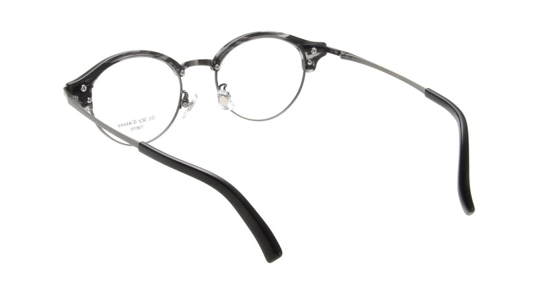 Oh My Glasses TOKYO Adam omg-051-5-47 [黒縁/鯖江産/丸メガネ]  2