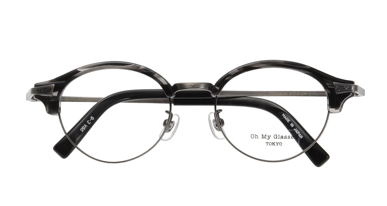 Oh My Glasses TOKYO Adam omg-051-5-47 [黒縁/鯖江産/丸メガネ]  3