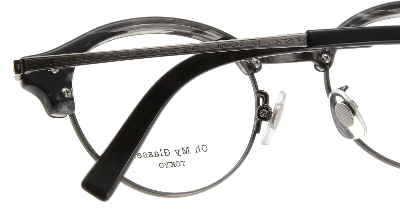 Oh My Glasses TOKYO Adam omg-051-5-47 [黒縁/鯖江産/丸メガネ]  4