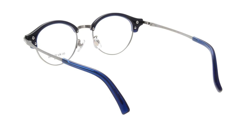 Oh My Glasses TOKYO Adam omg-051-7-47 [鯖江産/丸メガネ/青]  2