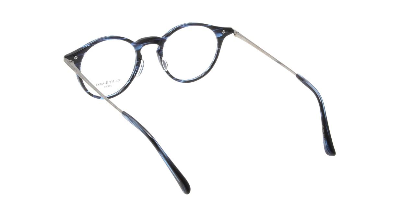 Oh My Glasses TOKYO Jamie omg-053-6-47 [鯖江産/丸メガネ/青]  2