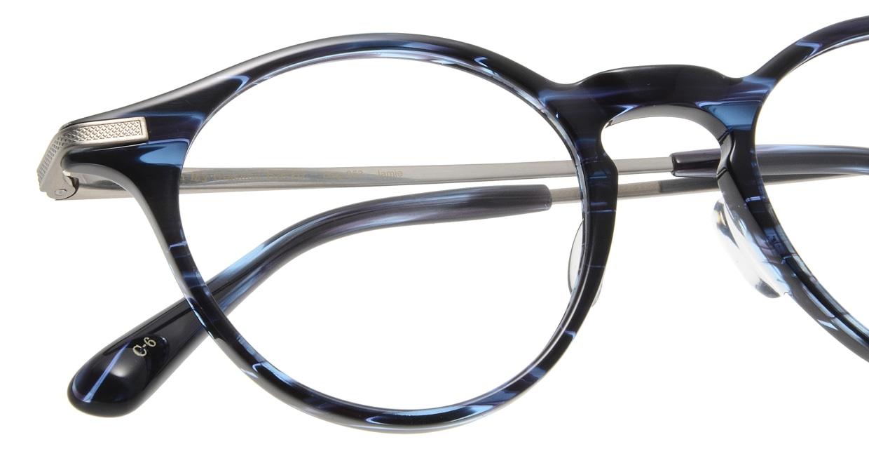 Oh My Glasses TOKYO Jamie omg-053-6-47 [鯖江産/丸メガネ/青]  4
