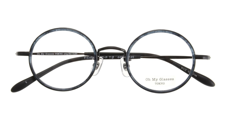 Oh My Glasses TOKYO Dustin omg-062-5-44 [鯖江産/丸メガネ/青]  3