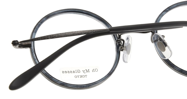 Oh My Glasses TOKYO Dustin omg-062-5-44 [鯖江産/丸メガネ/青]  4