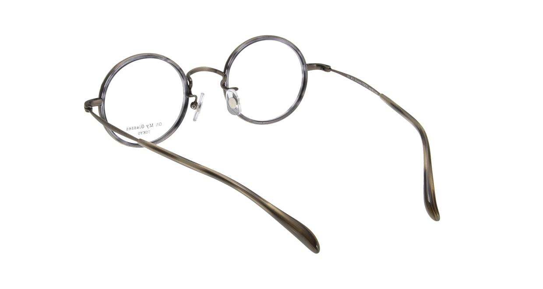 Oh My Glasses TOKYO Dustin omg-062-6-44 [鯖江産/丸メガネ/グレー]  2