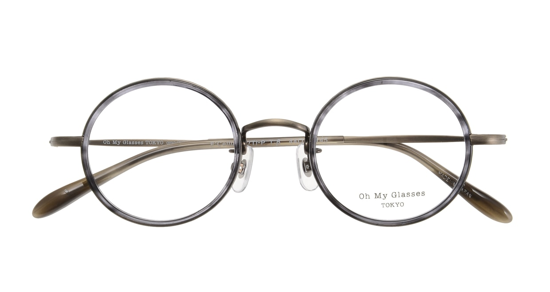 Oh My Glasses TOKYO Dustin omg-062-6-44 [鯖江産/丸メガネ/グレー]  3