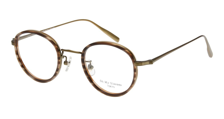 Oh My Glasses TOKYO Raymond omg-065-5-45 [鯖江産/丸メガネ/べっ甲柄]