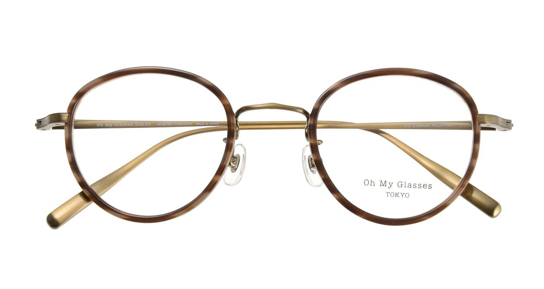 Oh My Glasses TOKYO Raymond omg-065-5-45 [鯖江産/丸メガネ/べっ甲柄]  3