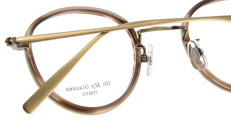 Oh My Glasses TOKYO Raymond omg-065-5-45 [鯖江産/丸メガネ/べっ甲柄]  4