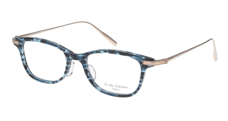 Oh My Glasses TOKYO Julian omg-066-4-47 [鯖江産/ウェリントン/青]