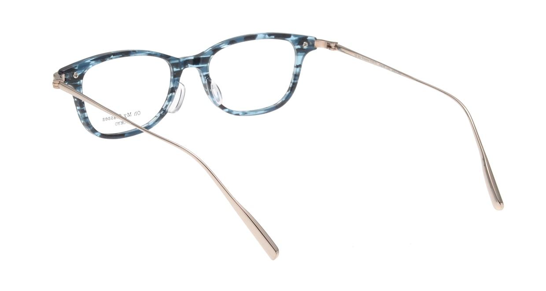 Oh My Glasses TOKYO Julian omg-066-4-47 [鯖江産/ウェリントン/青]  2