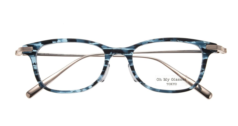 Oh My Glasses TOKYO Julian omg-066-4-47 [鯖江産/ウェリントン/青]  3