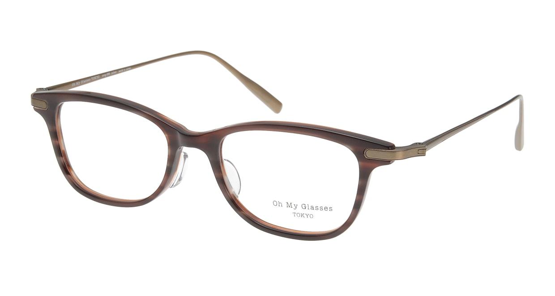 Oh My Glasses TOKYO Julian omg-066-17-12 [鯖江産/ウェリントン/茶色]