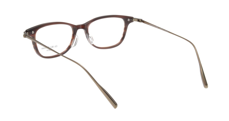 Oh My Glasses TOKYO Julian omg-066-17-12 [鯖江産/ウェリントン/茶色]  2