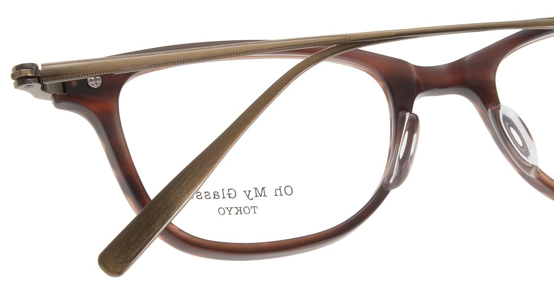 Oh My Glasses TOKYO Julian omg-066-17-12 [鯖江産/ウェリントン/茶色]  4