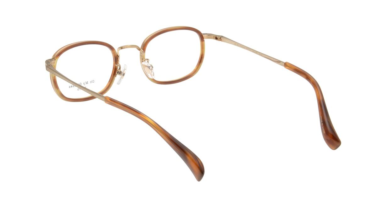 Oh My Glasses TOKYO Stuart omg-068-3-46 [鯖江産/ウェリントン/べっ甲柄]  2