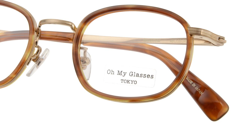 Oh My Glasses TOKYO Stuart omg-068-3-46 [鯖江産/ウェリントン/べっ甲柄]  4