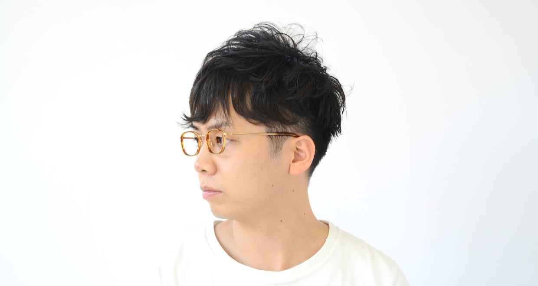 Oh My Glasses TOKYO Stuart omg-068-3-46 [鯖江産/ウェリントン/べっ甲柄]  6